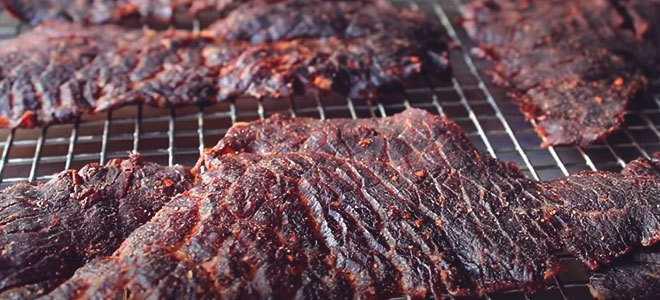 Вяленое мясо в меню туриста. Как завялить мясо в домашних условиях