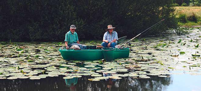 Чем полезна рыбалка и отдых на природе?