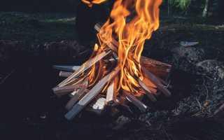 Как разжечь костер: основы разведения огня
