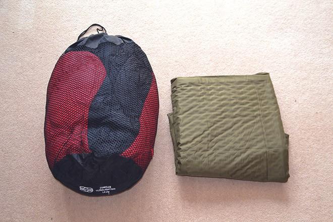 Спальный мешок и коврик