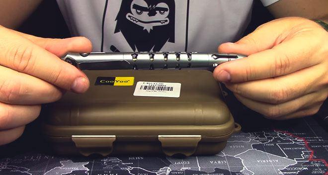 Титановая тактическая ручка
