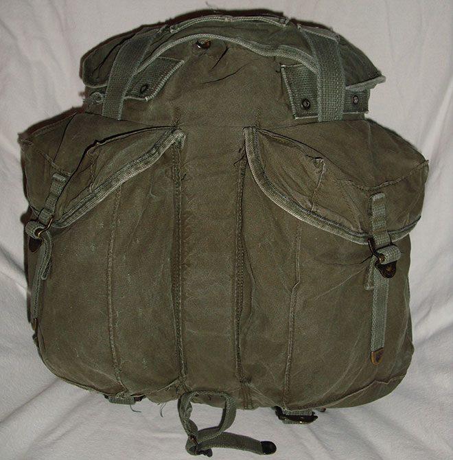 Мягкий рюкзак.