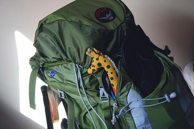 Экспедиционный рюкзак.