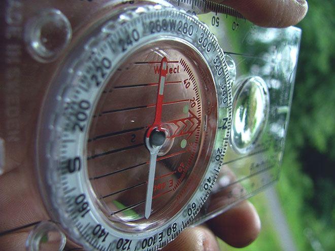 Прозрачный компас
