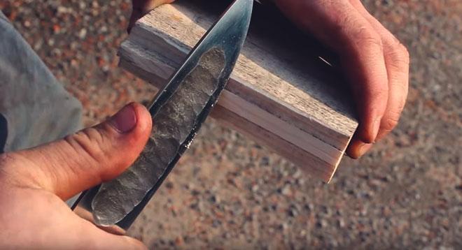 Клинок якутского ножа.