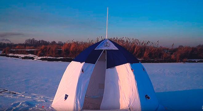 Палатка зонт.