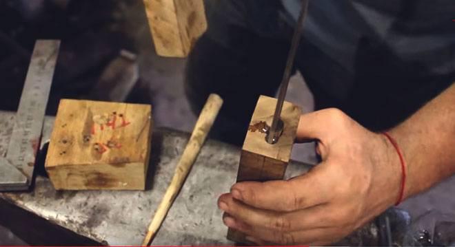 Изготовление рукоятки для якутского ножа