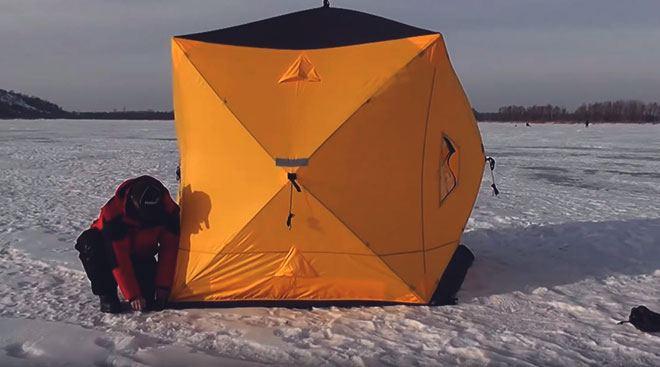 Зимняя палатка Куб.