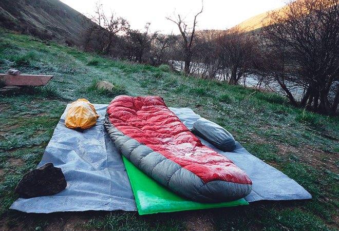 Теплый спальник