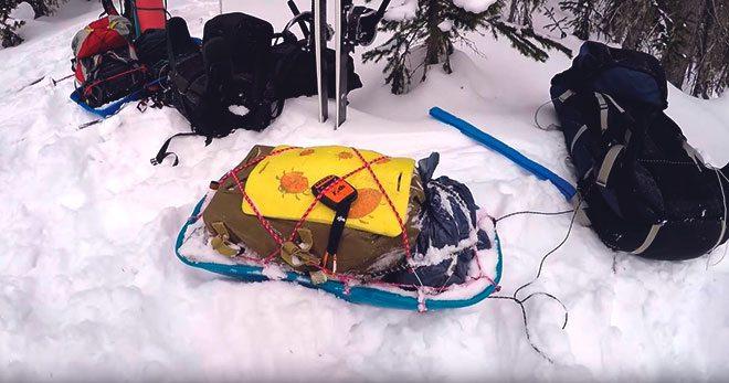 Сани для лыжного похода