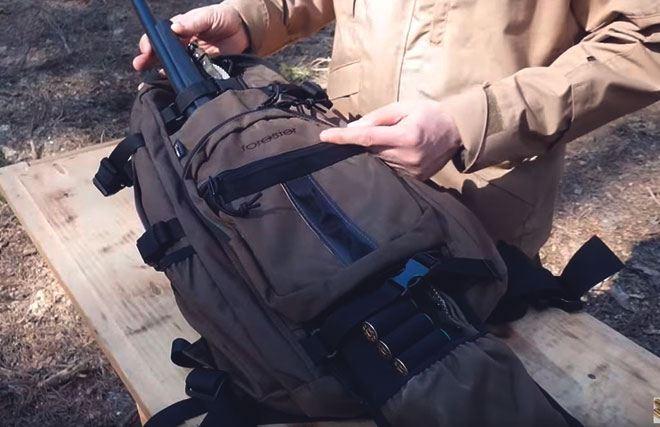 Рюкзак для оружия.