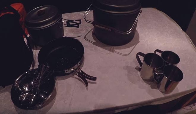 Походная посуда.