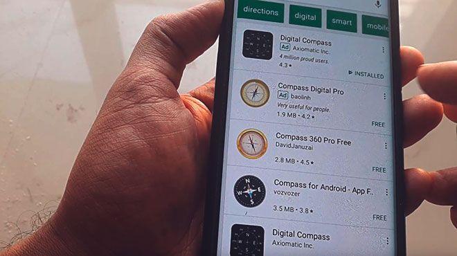 Приложения компасов для андроид