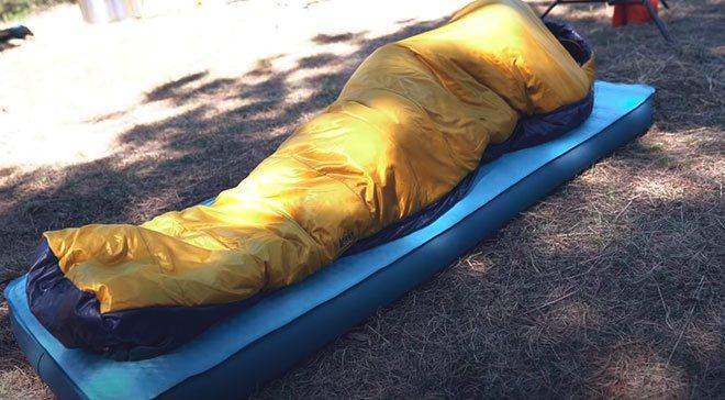 Размер и форма туристического коврика