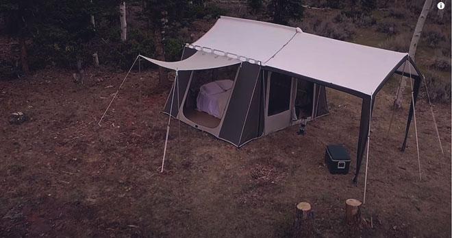 Кемпинговые палатки.