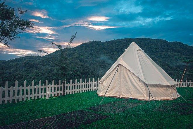 Шатровые кемпинговые палатки.