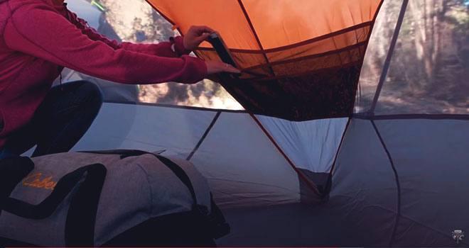 Комфорт в палатке.