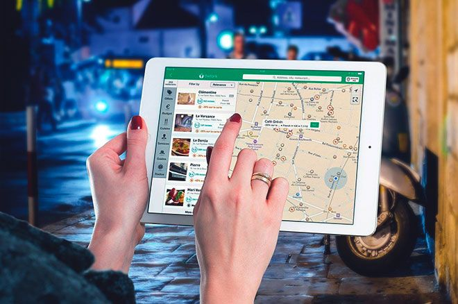 Карта и планшет